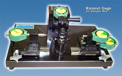 Runout Gage for Damper Hub