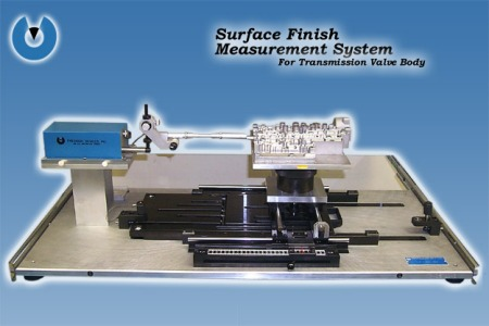 PDI Surface Finish Measurement System for Transmission Valve Body